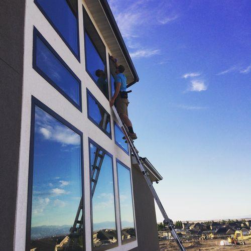 Utah professional window washing