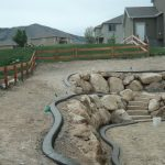 Decorative curbing in Saratoga Springs, Utah by Utah Valley Curb, photo 3