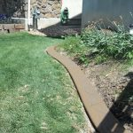 Khaki brown Spanish textured curbing in Lehi, Utah by Utah Valley Curb, photo 3