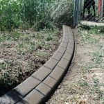 Decorative curbing in Mapleton, Utah by Utah Valley Curb, photo 2