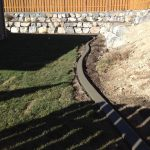 Slant gray curbing in Saratoga Springs, Utah by Utah Valley Curb, photo 1