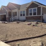 Slant brown curbing in Spanish Fork, Utah by Utah Valley Curb, photo 1