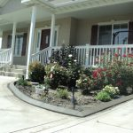 Decorative curbing in Pleasant Grove, Utah by Utah Valley Curb, photo 1
