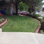 Decorative curbing in Draper, Utah by Utah Valley Curb, photo 1