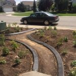 Decorative curbing in Heber, Utah by Utah Valley Curb, photo 1