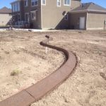 Decorative curbing in Herriman, Utah by Utah Valley Curb, photo 1