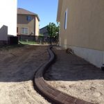 Slant curbing in Lehi, Utah by Utah Valley Curb, photo 7