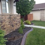 Decorative curbing in Lehi, Utah by Utah Valley Curb, photo 1