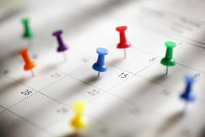 Calendar-Thumbtacks